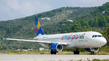 LY-SPG - Small Planet Airlines Airbus A320 aircraft