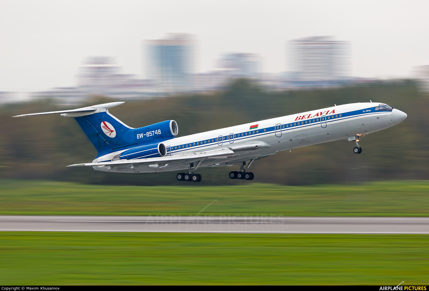 Belavia EW-85748 aircraft at St. Petersburg - Pulkovo