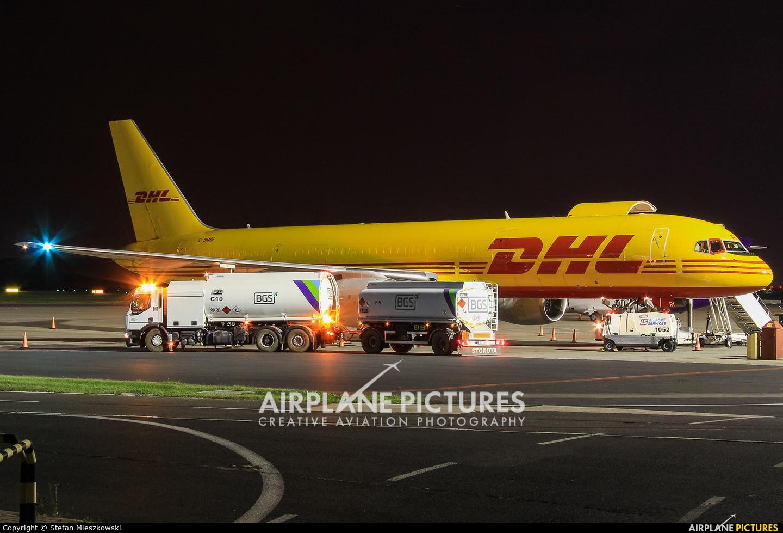 DHL Cargo G-BMRI aircraft at Warsaw - Frederic Chopin