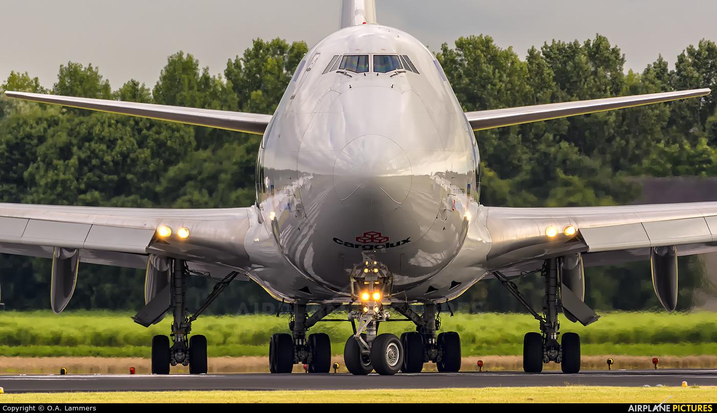 Cargolux LX-VCV aircraft at Amsterdam - Schiphol