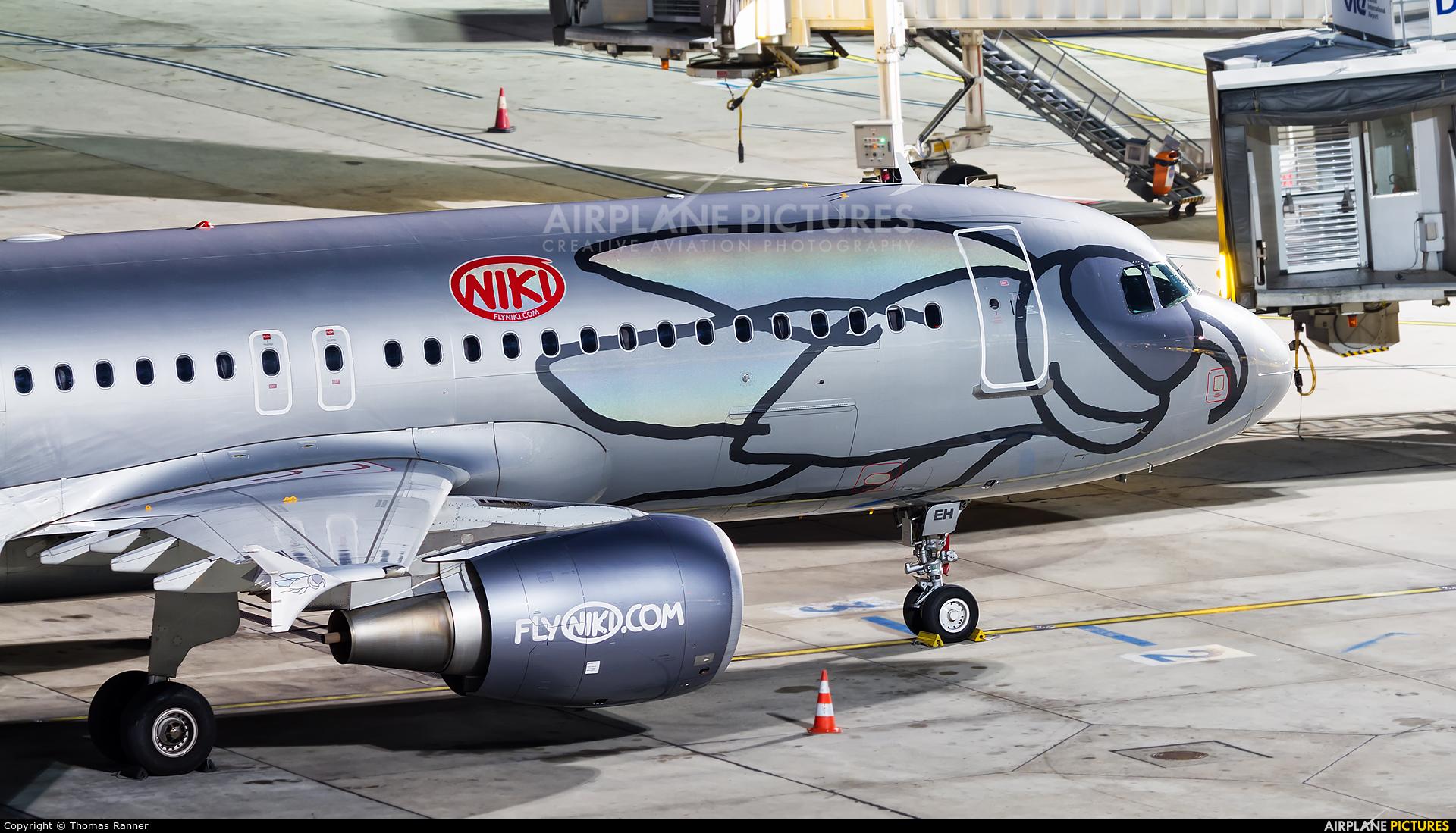 Niki OE-LEH aircraft at Vienna - Schwechat