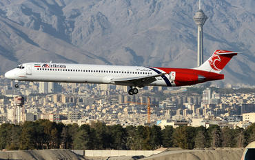 EP-TAR - ATA Airlines Iran McDonnell Douglas MD-83