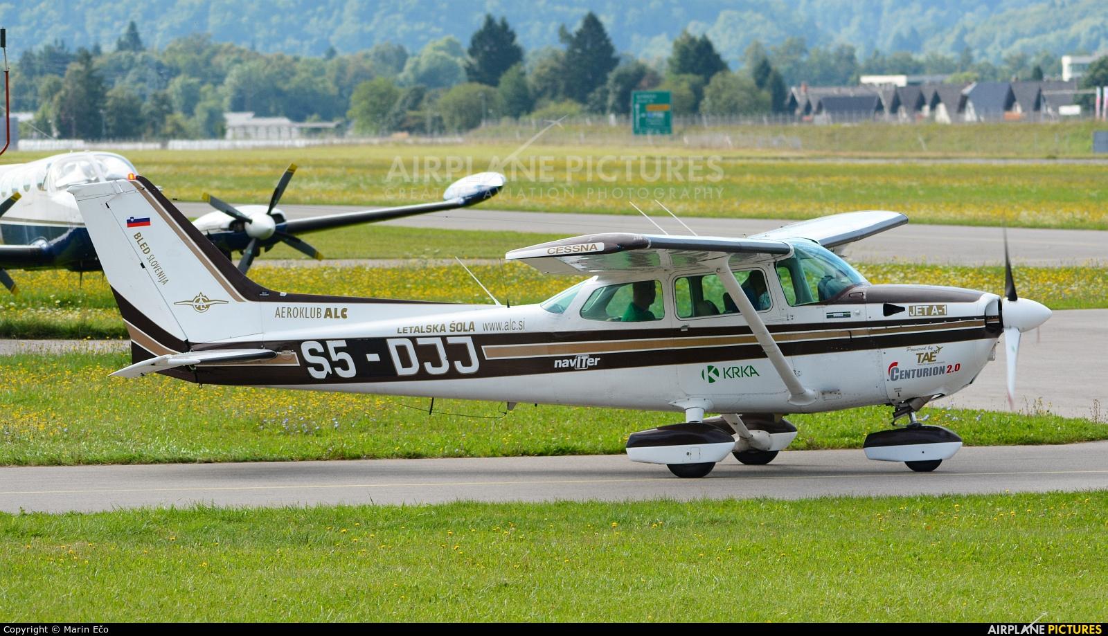 Aeroklub ALC Lesce S5-DJJ aircraft at Lesce-Bled