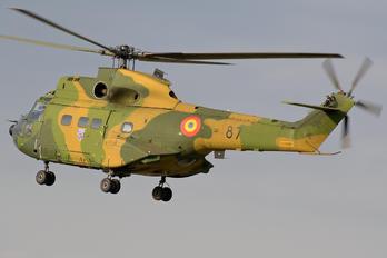 87 - Romania - Air Force IAR Industria Aeronautică Română IAR 330 Puma