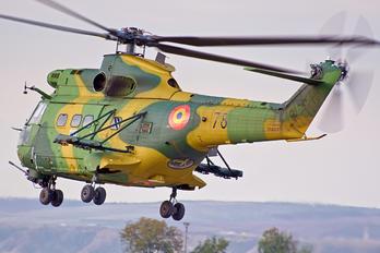 78 - Romania - Air Force IAR Industria Aeronautică Română IAR 330L-Socat Puma