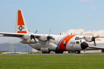 1708 - USA - Coast Guard Lockheed HC-130H Hercules