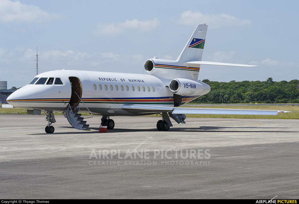 Namibia - Air Force V5-NAM aircraft at Belém