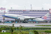 China Airlines A350 flight-approval test at Kaohsiung/Taiwan title=