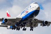 G-CIVD - British Airways Boeing 747-400 aircraft