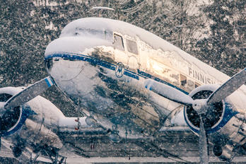 OH-LCD - Aero - Finnish Airlines (Airveteran) Douglas DC-3