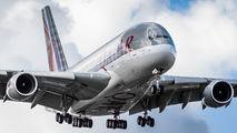 A7-APE - Qatar Airways Airbus A380 aircraft