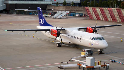 G-FBXA - SAS - Scandinavian Airlines ATR 72 (all models)