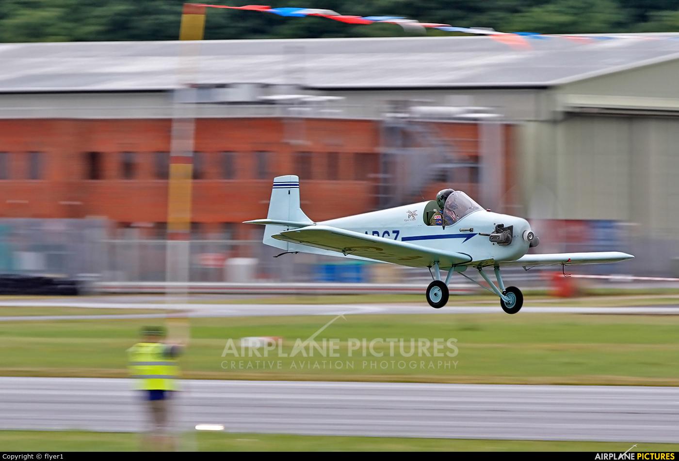 Private G-ARGZ aircraft at Dunsfold
