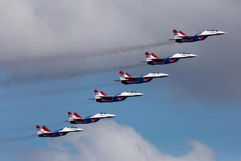 """02 - Russia - Air Force """"Strizhi"""" Mikoyan-Gurevich MiG-29"""