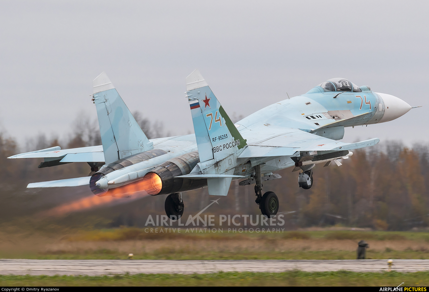 Russia - Air Force RF-95255 aircraft at Undisclosed Location