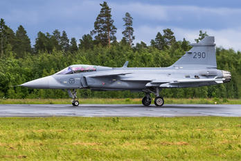 290 - Sweden - Air Force SAAB JAS 39C Gripen