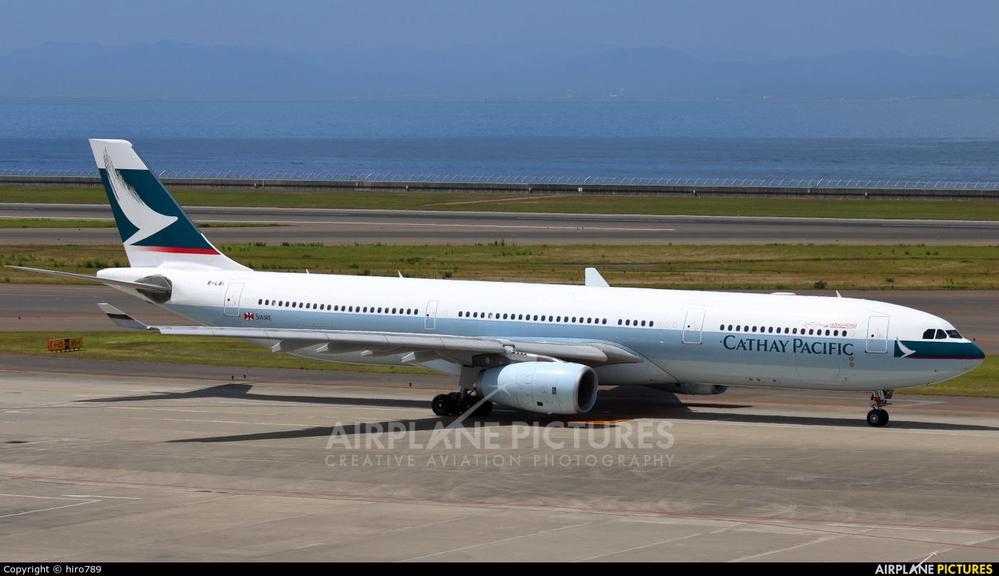 Cathay Pacific B-LBI aircraft at Chubu Centrair Intl