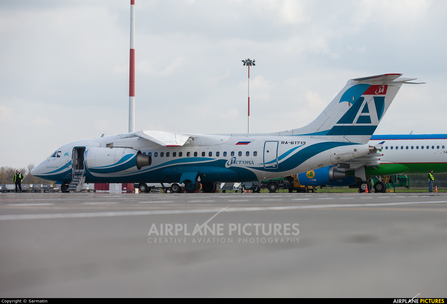 Angara Airlines RA-61713 aircraft at Kazan