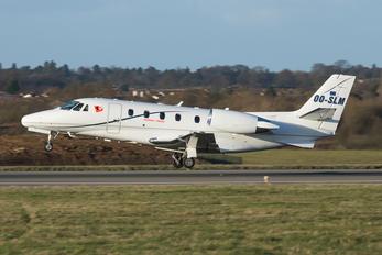 OO-SLM - Private Cessna 560XL Citation XLS