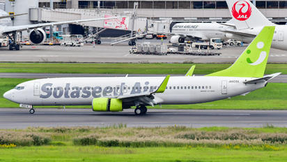 JA805X - Solaseed Air - Skynet Asia Airways Boeing 737-800