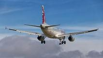 A7-ADE - Qatar Airways Airbus A320 aircraft