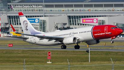 EI-FHU - Norwegian Air International Boeing 737-800