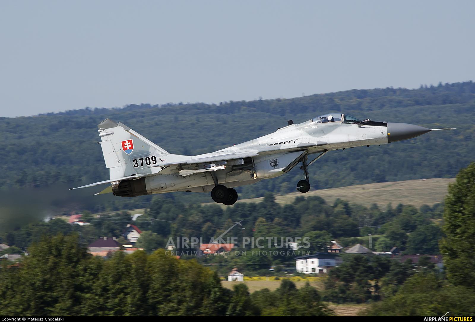 Slovakia -  Air Force 3911 aircraft at Sliač