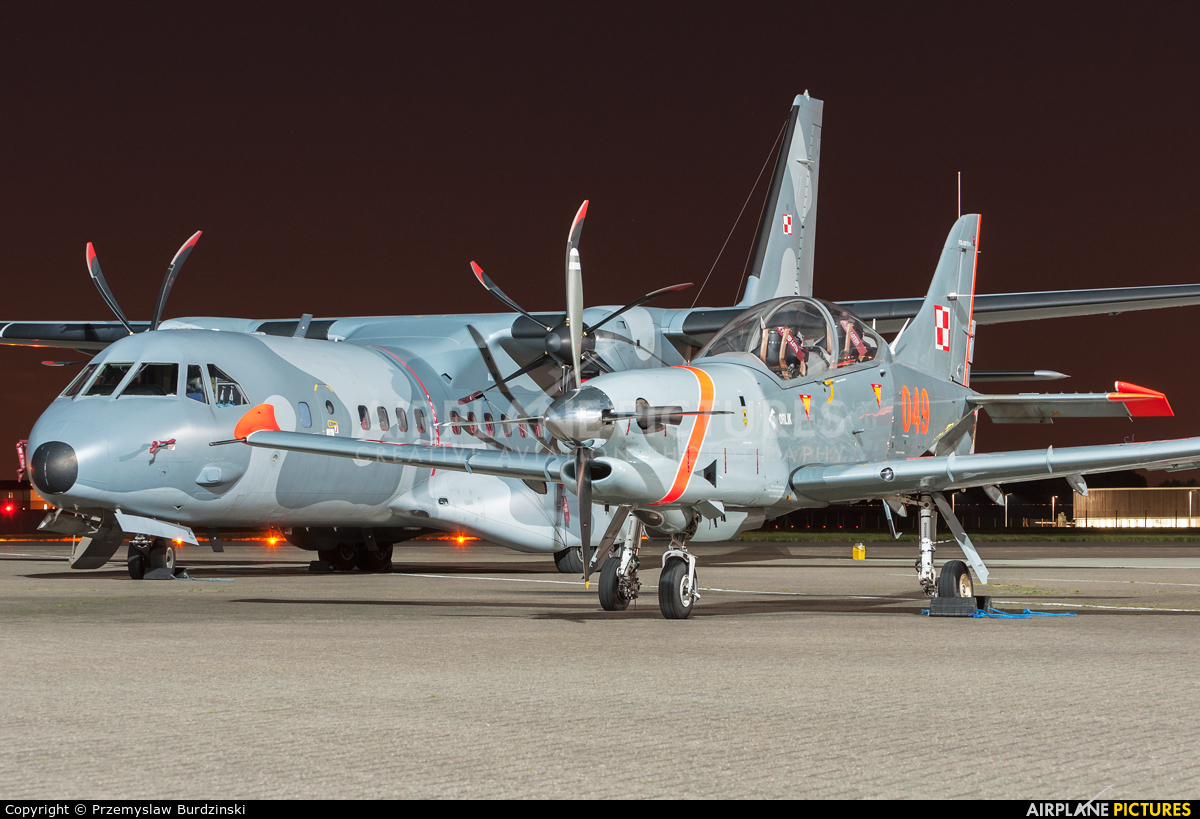 "Poland - Air Force ""Orlik Acrobatic Group"" 049 aircraft at Northolt"