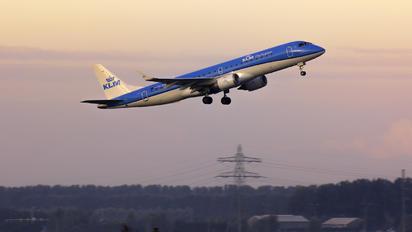 PH-EXE - KLM Cityhopper Embraer ERJ-190 (190-100)