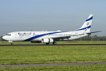 4X-EHI - El Al Israel Airlines Boeing 737-900