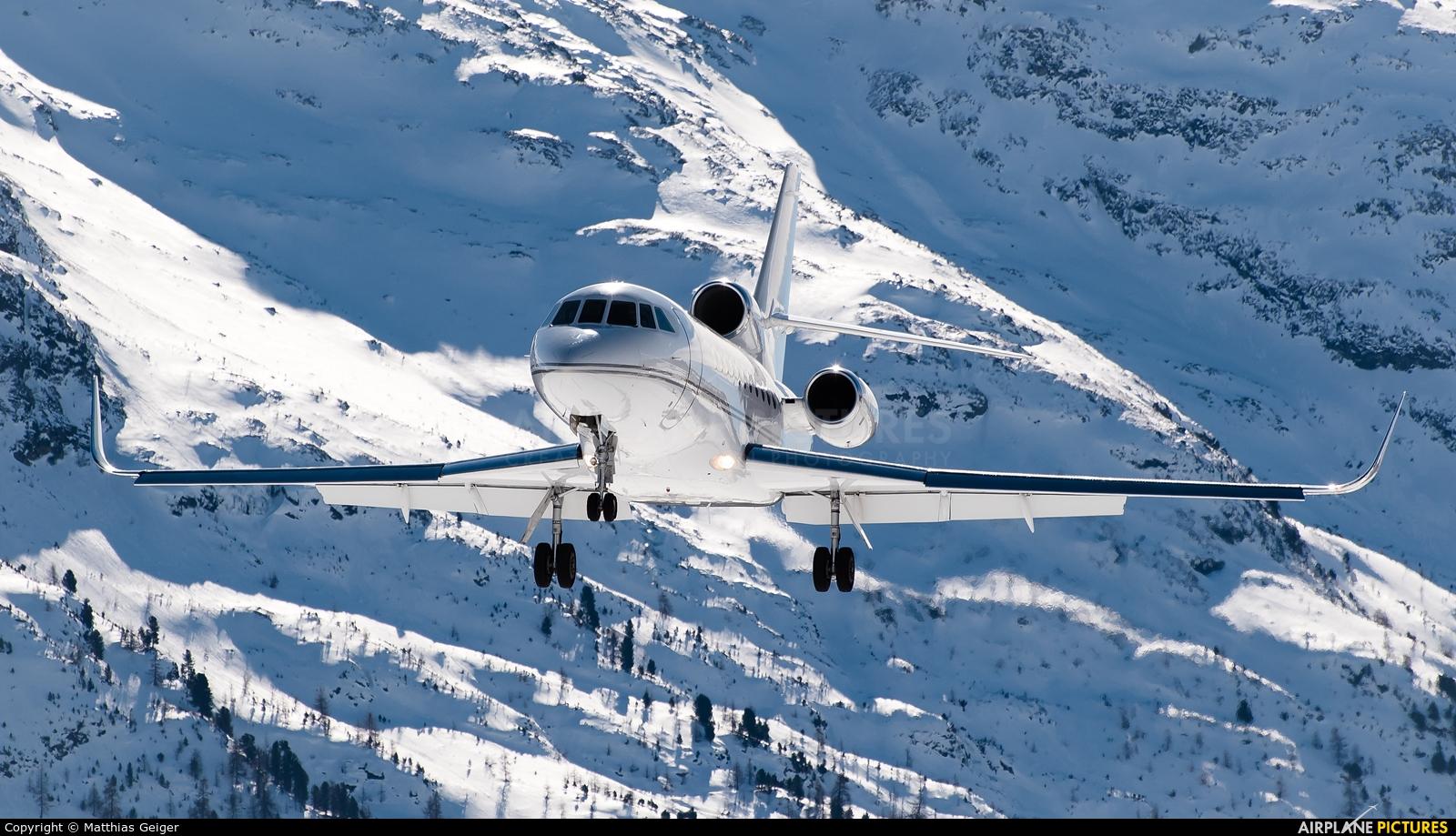 Private M-ATEX aircraft at Samedan - Engadin