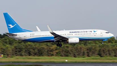 B-5707 - Xiamen Airlines Boeing 737-800
