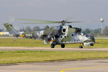 3369 - Czech - Air Force Mil Mi-35