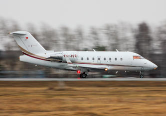9H-JGR - Nomad Aviation Bombardier CL-600-2B16 Challenger 604