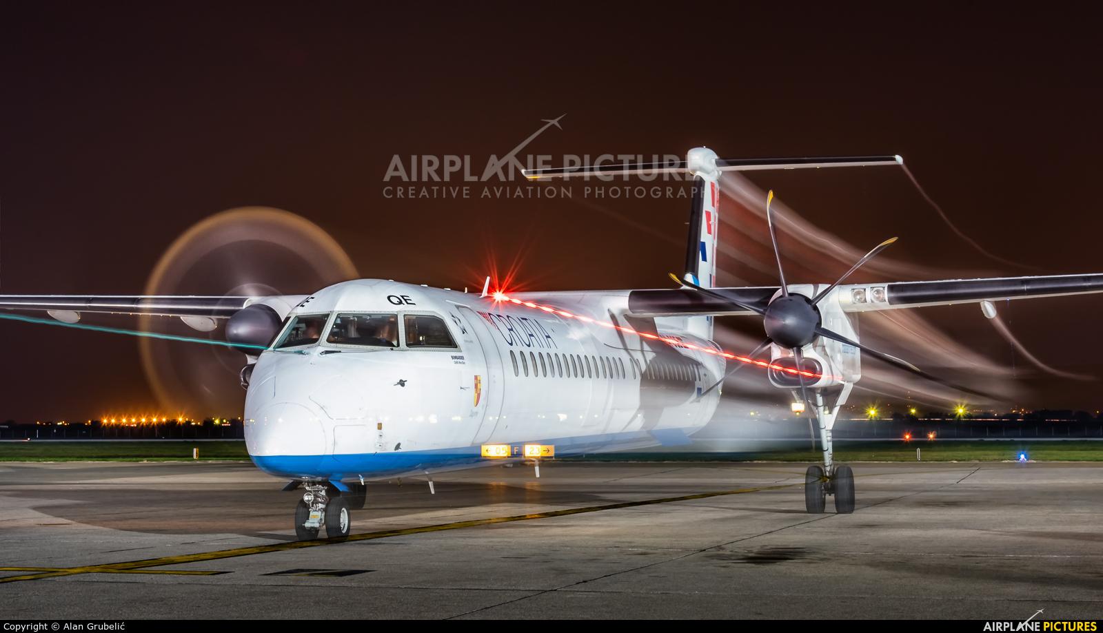 Croatia Airlines 9A-CQE aircraft at Zagreb