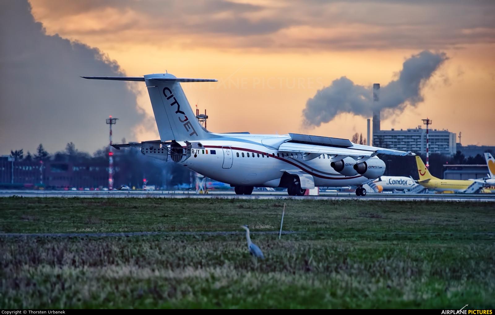 CityJet EI-RJY aircraft at Düsseldorf