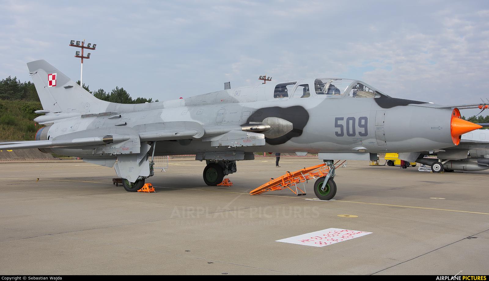 Poland - Air Force 509 aircraft at Mirosławiec