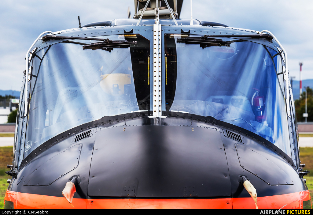 Agrarflug Helilift D-HGPP aircraft at Braga