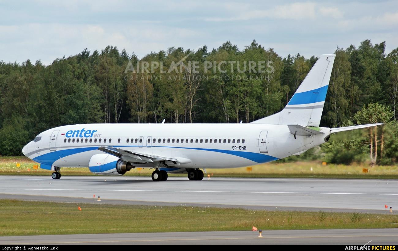 Enter Air SP-ENB aircraft at Katowice - Pyrzowice