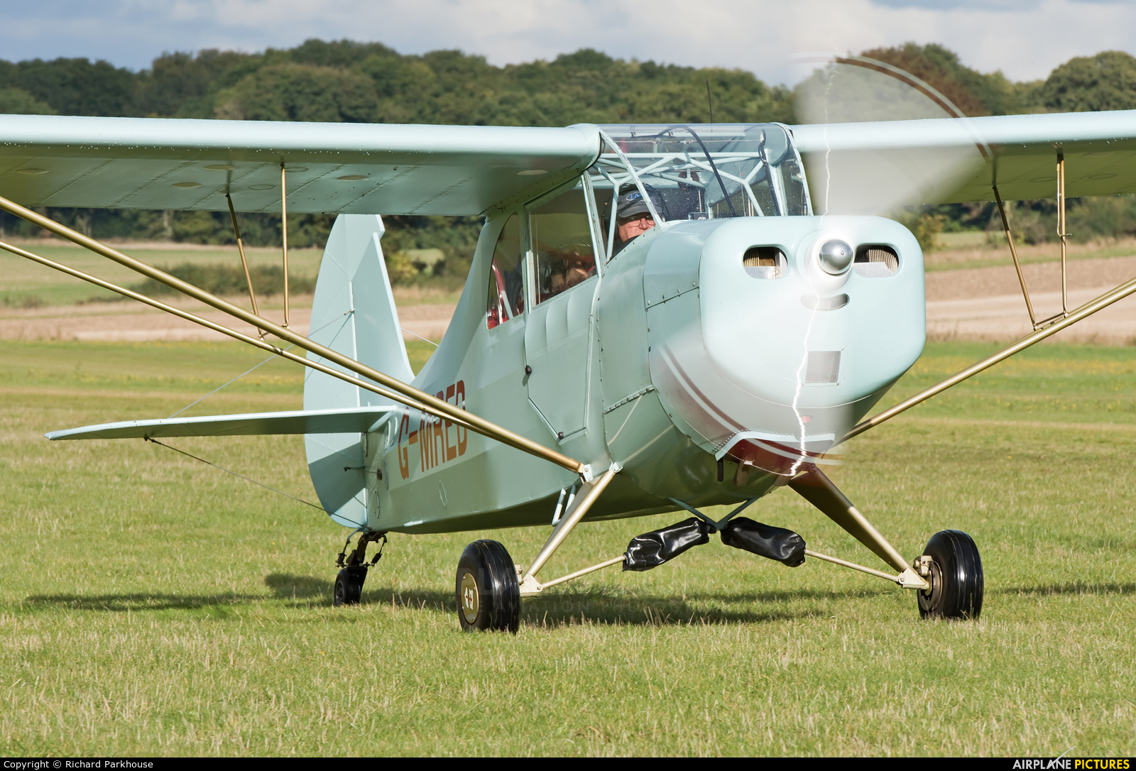 Private G-MRED aircraft at Popham