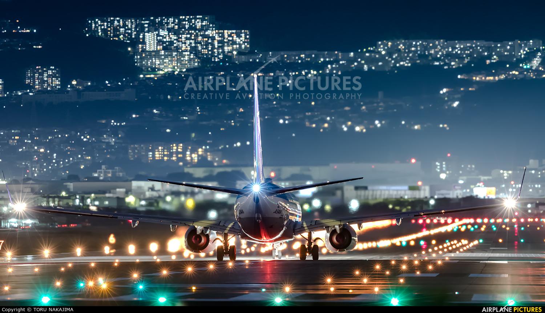 ANA - All Nippon Airways JA54AN aircraft at Osaka - Itami Intl