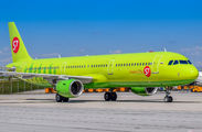 VQ-BQK - S7 Airlines Airbus A321 aircraft