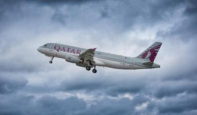 A7-AHG - Qatar Airways Airbus A320