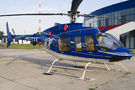 Private Bell 407 YR-TXA at Craiova airport