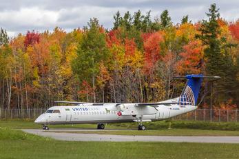 N345NG - United Express de Havilland Canada DHC-8-400Q / Bombardier Q400