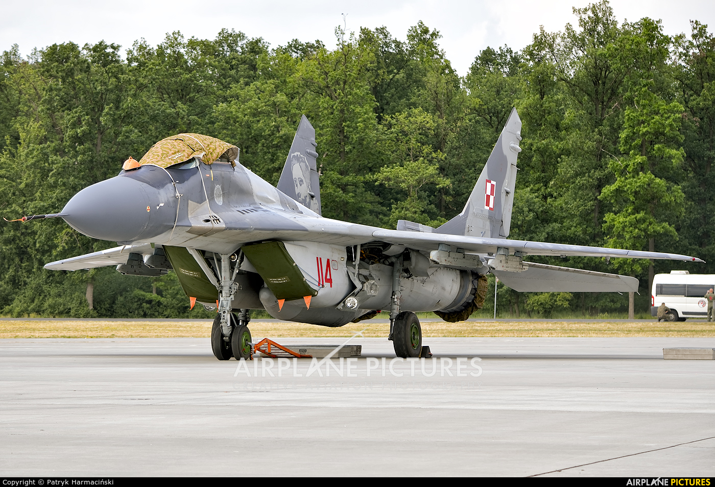 Poland - Air Force 114 aircraft at Powidz