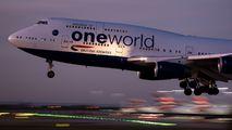 G-CIVC - British Airways Boeing 747-400 aircraft