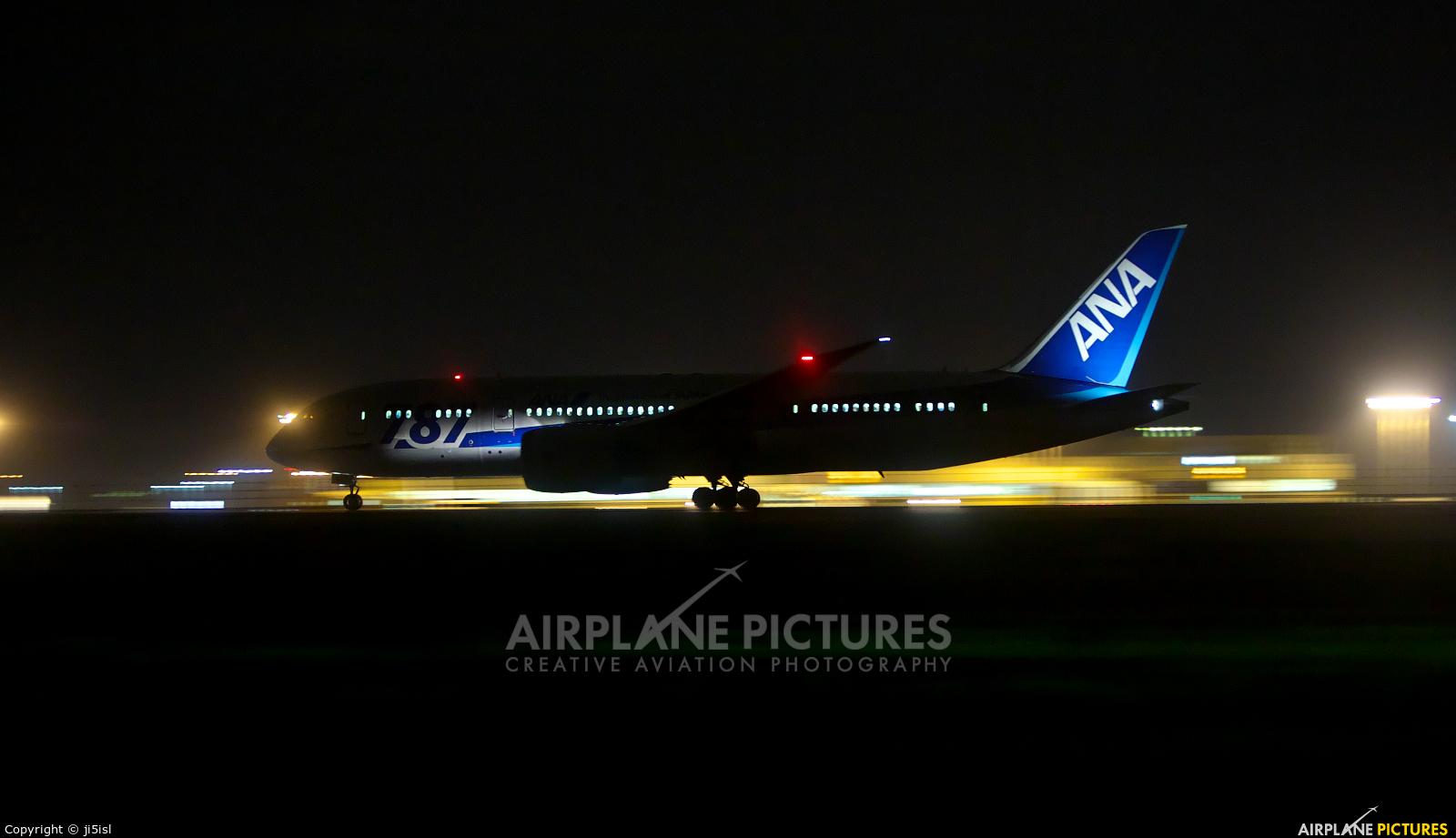 ANA - All Nippon Airways JA818A aircraft at Kōchi