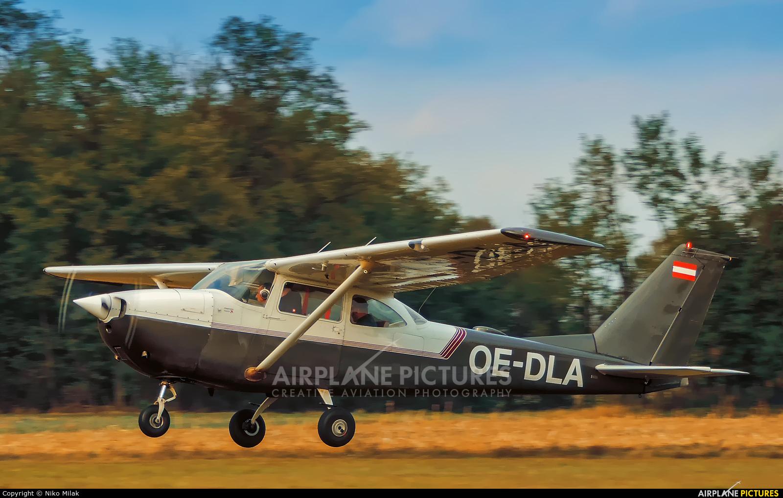 Private OE-DLA aircraft at Murska Sobota