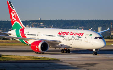 5Y-KZB - Kenya Airways Boeing 787-8 Dreamliner